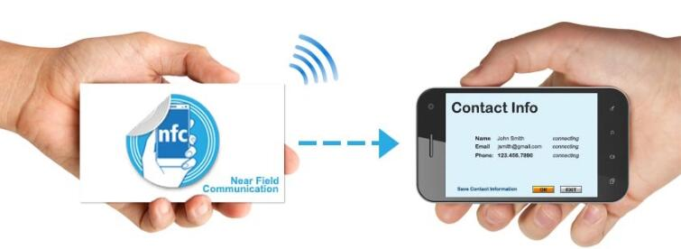 1 13.56MHz NFC Sticker Application