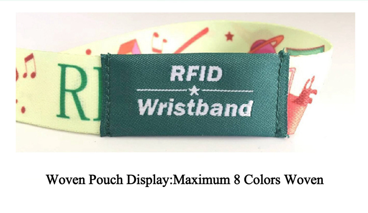 RFID Pouched Wristband Products Details 01