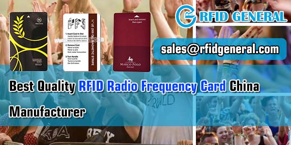 Best Quality RFID Radio Frequency Card China Manufacturer